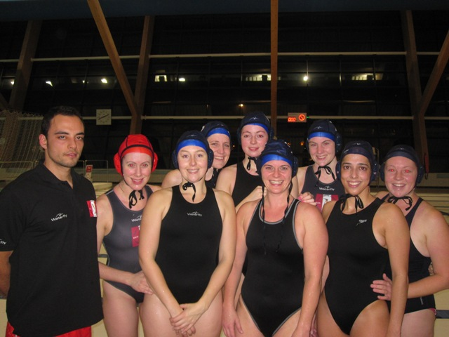 Penguin womens 2nd team at Liverpool Dec 2009