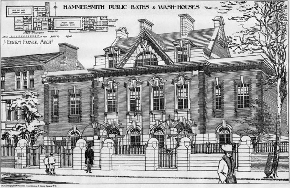 Hammermith public baths aka Lime Grove Baths