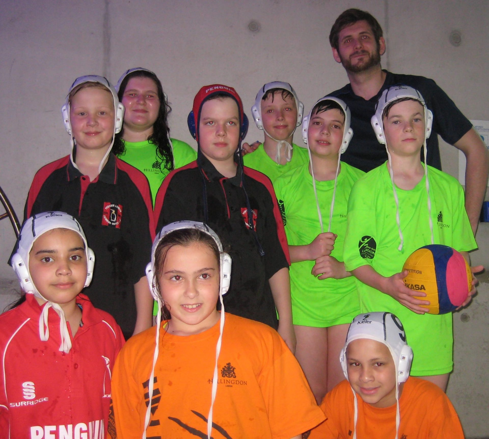 Hillingdon Penguin U13 team