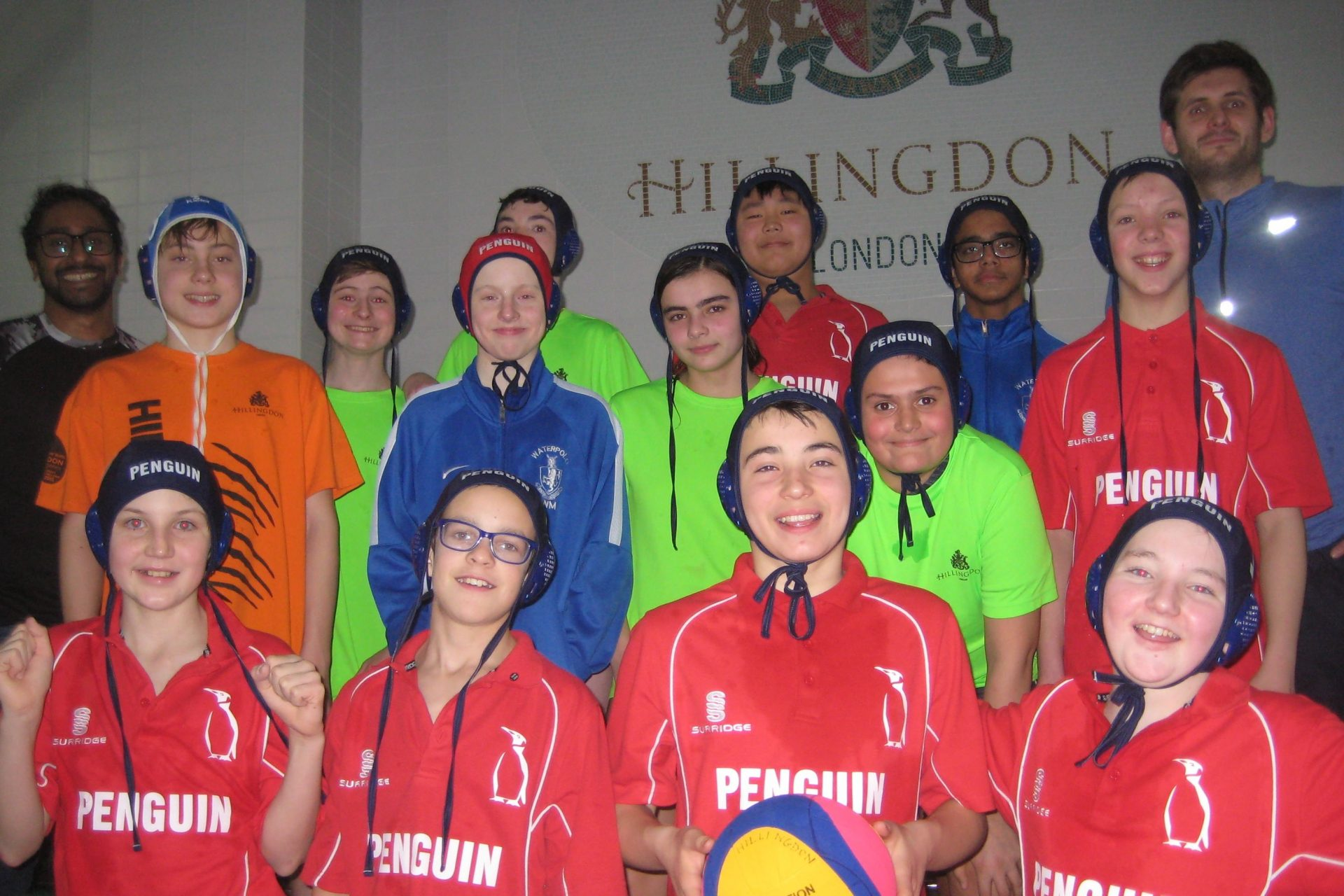 Hillingdon Penguin U14s London League Winter Championships
