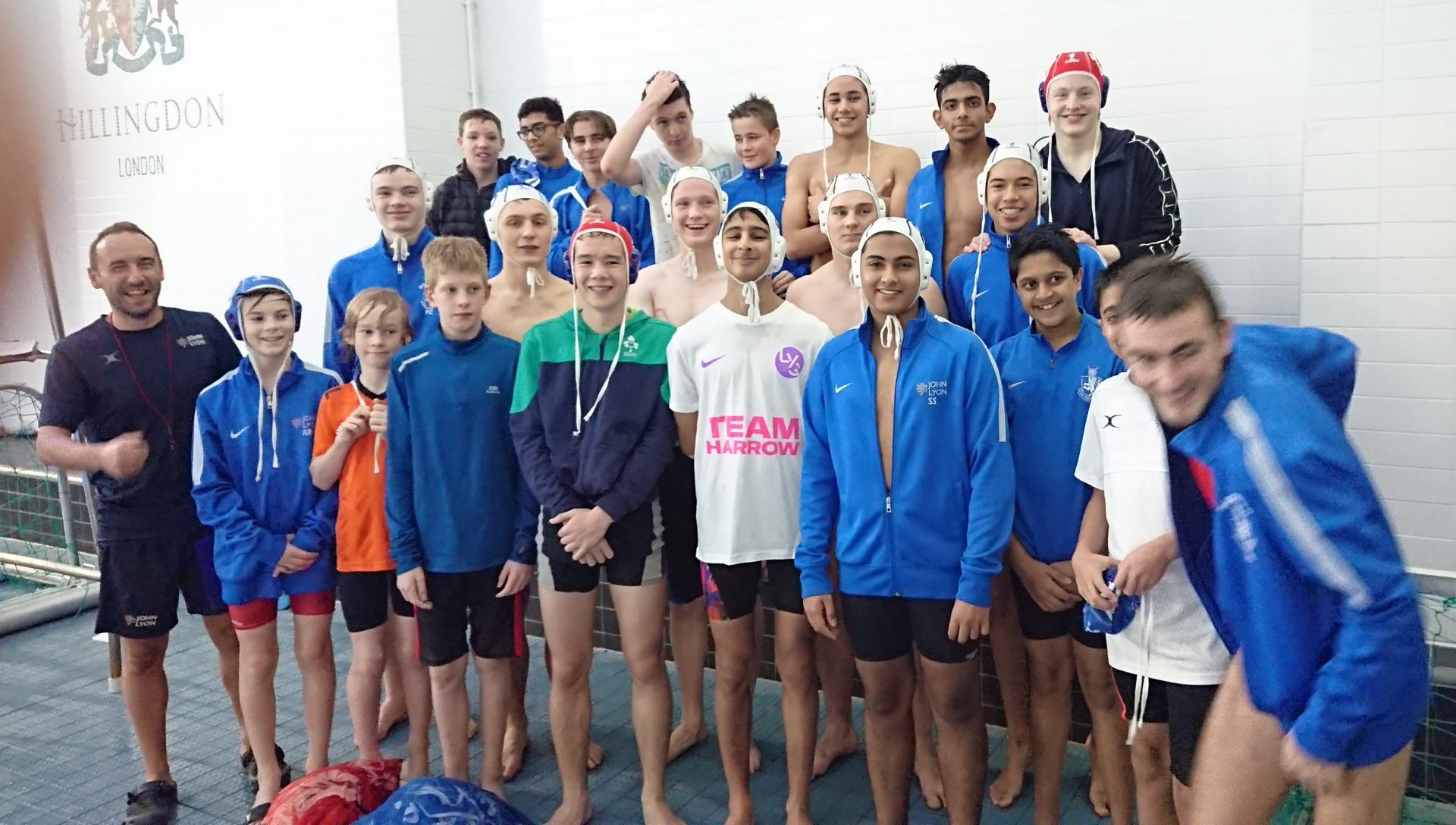 Harrow water polo team