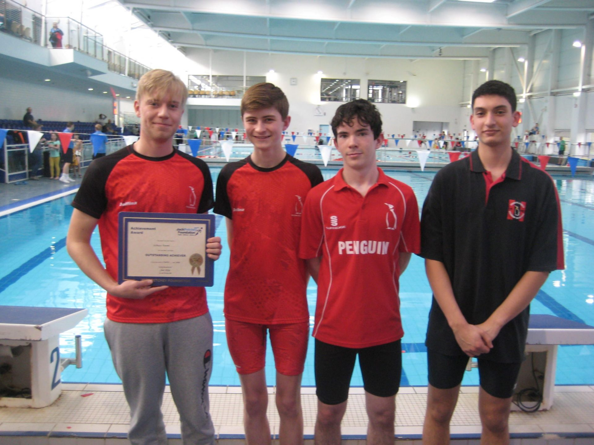Will Hames receiving the Jack Petchey Award for March 2020